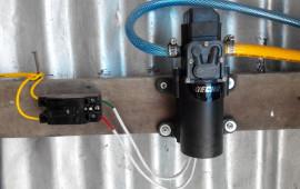 5 Hạn chế đối với Máy phun năng lượng điện 12 Volt