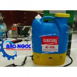 Máy phun thuốc trừ sâu bằngđiện Kawayama K-16L